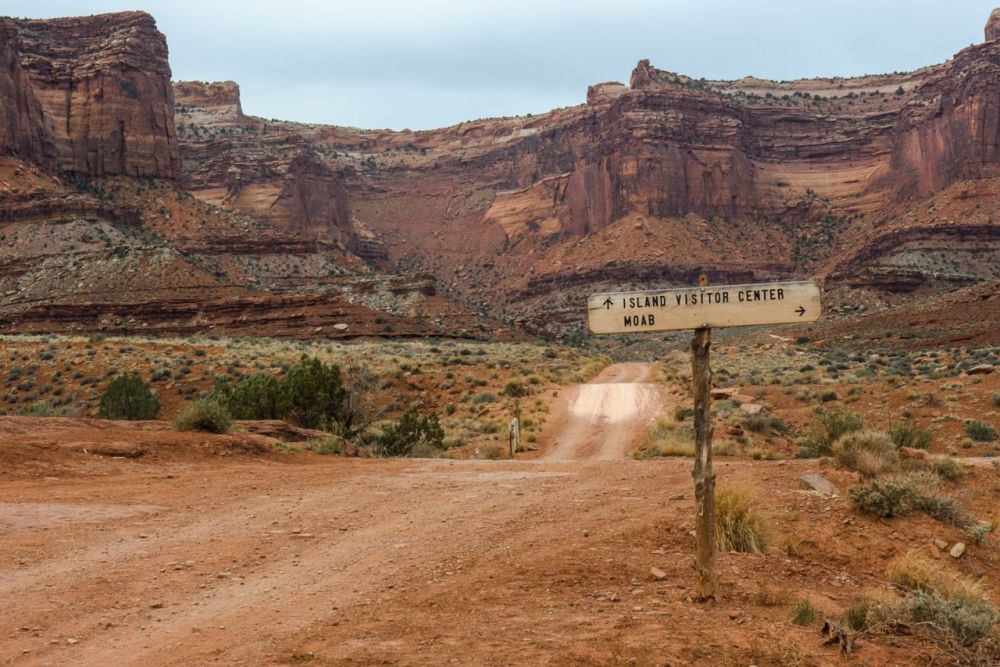 Down on th the White Rim Road