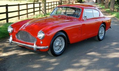 1957 Aston Martin DB2 Mk3 Coupe