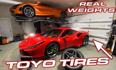 Ferrari F8 Tributo weight