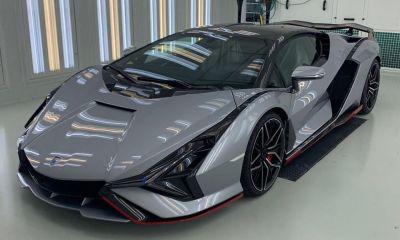 Lamborghini Sian-Silver-2