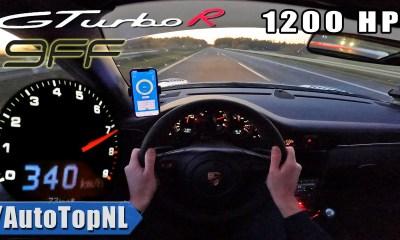 Porsche 9ff GTurbo R-Autobahn-Top Speed