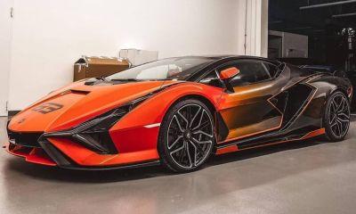 Lamborghini Sian-Orange-Carbon-Ad Personam-1