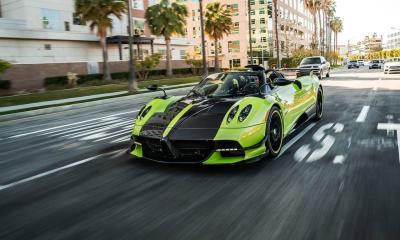 Green-Carbon-Pagani Huayra Roadster BC-US-1