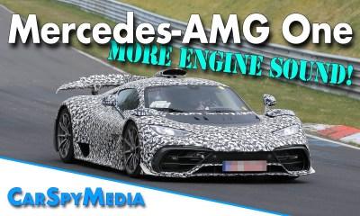 Mercedes-AMG One-Nurburgring-testing