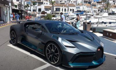 Bugatti Divo-Puerto Banus