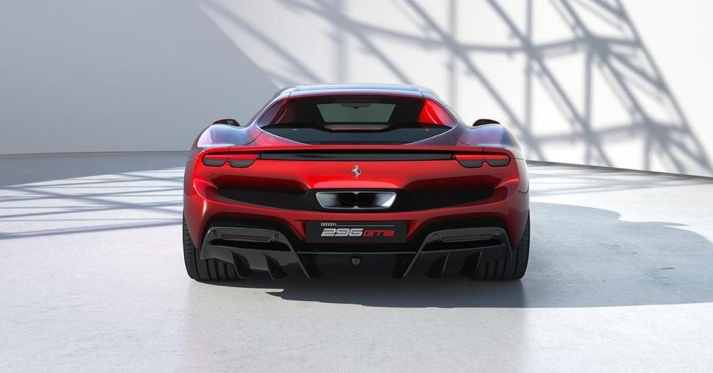 Ferrari 296 GTB-V6 Hybrid-Supercar-2