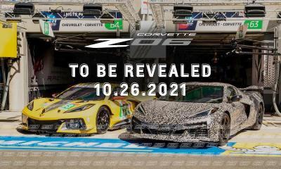 Corvette Z06 official reveal