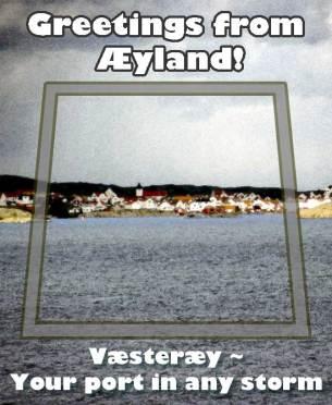 Aetland-postcard