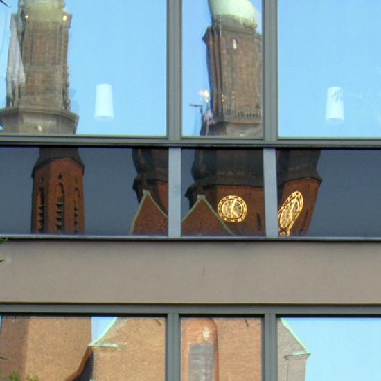 Five-past-five at Högalid's Church, Stockholm