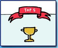Artwiculate Top 5 badge