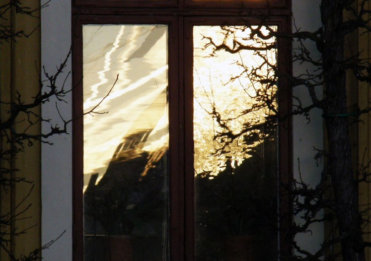 Sunrise in the window