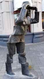 Maastricht: De Wiekeneer by Frans Carlier - Wycker Brugstraat outside Hotel Beaumont