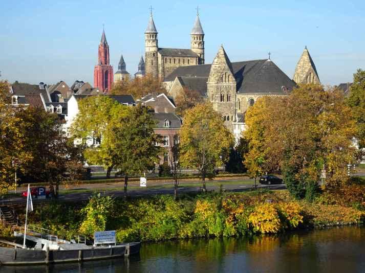 Maastricht: The Basiliek van Onze Lieve Vrouwe from Wyck