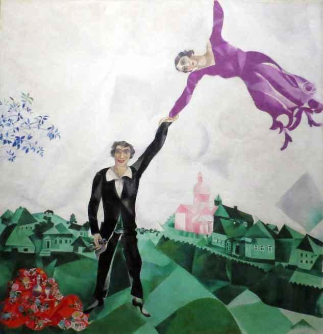 Chagall: The Promenade