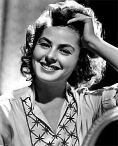Name: Ingrid Bergman