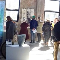 The Red Stone Gallery and the Art Round in Majorna