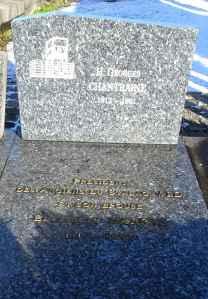 The Sleeping Place: Cimetière d'Ixelles President of the veterans of Stalag VI-D