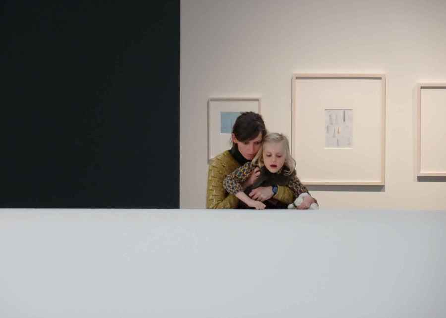 Drawing the Bottom Line 6 - mother and child SMAK reception
