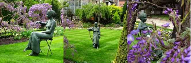 Brief return: Spring in the Leuven botanical garden