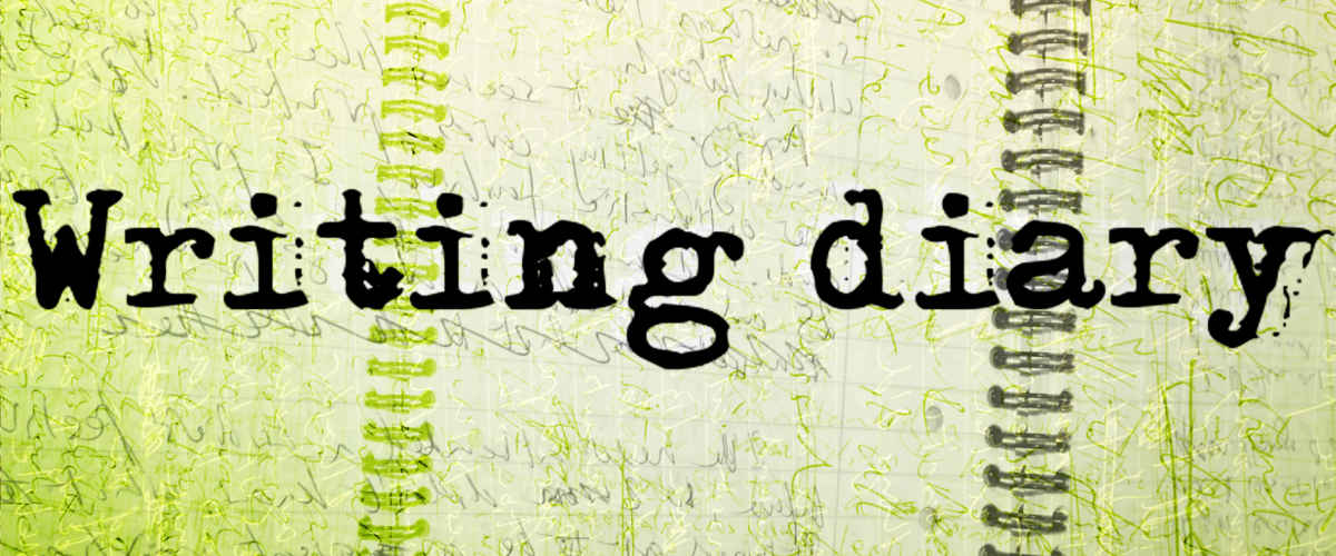 Start afresh: Writing Diary Header 1