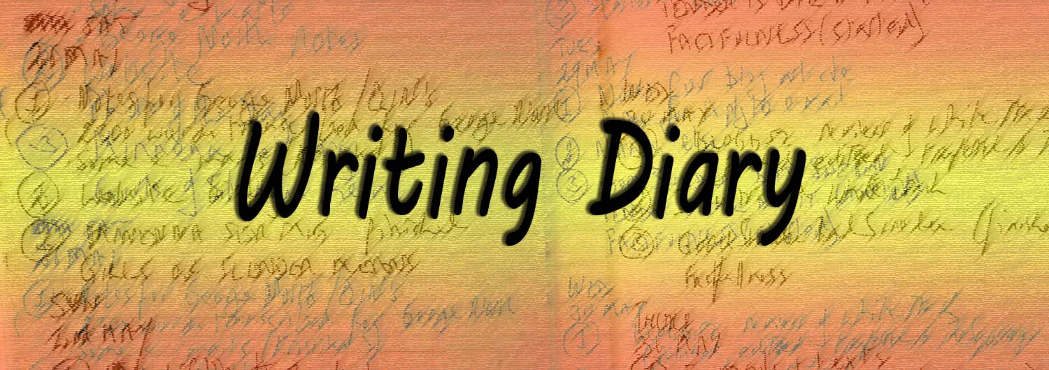 Counting words - Writing diary