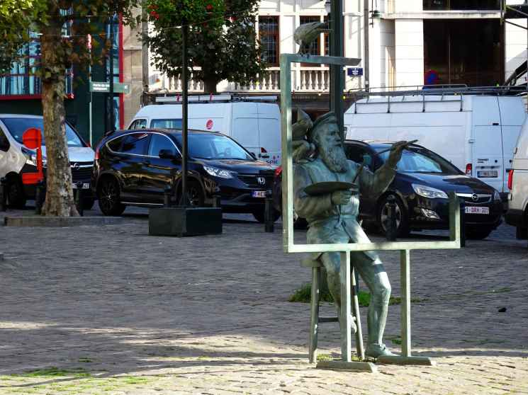 Breugel: The painter in the square