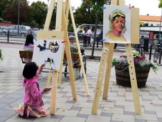 Plein-air - street art 2