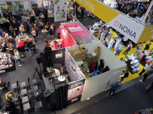 2018 Gothenburg Book Fair from above