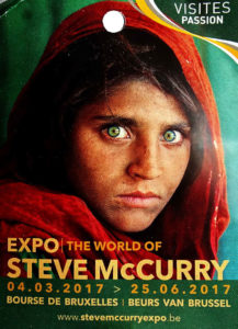 Steve McCurry ad