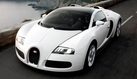 2009 Bugatti 16.4 Veyron Grand Sport front view