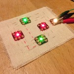 30/7/17 More Conductive Thread Workshop (Intermediate)