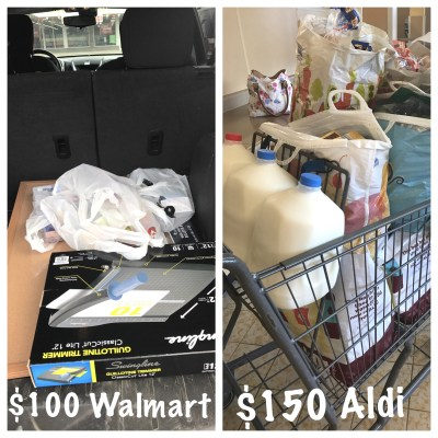 Aldi vs Walmart price comparison