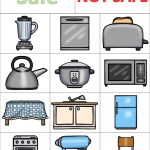 Kitchen Safety Worksheet