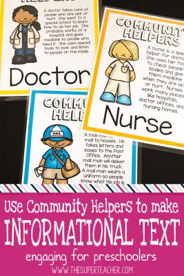 How to Encourage Literacy with Preschool Community Helpers