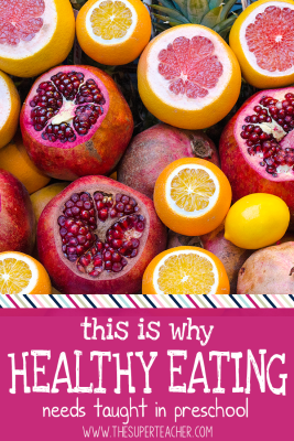 this is Why healthy eating needs taught in preschool