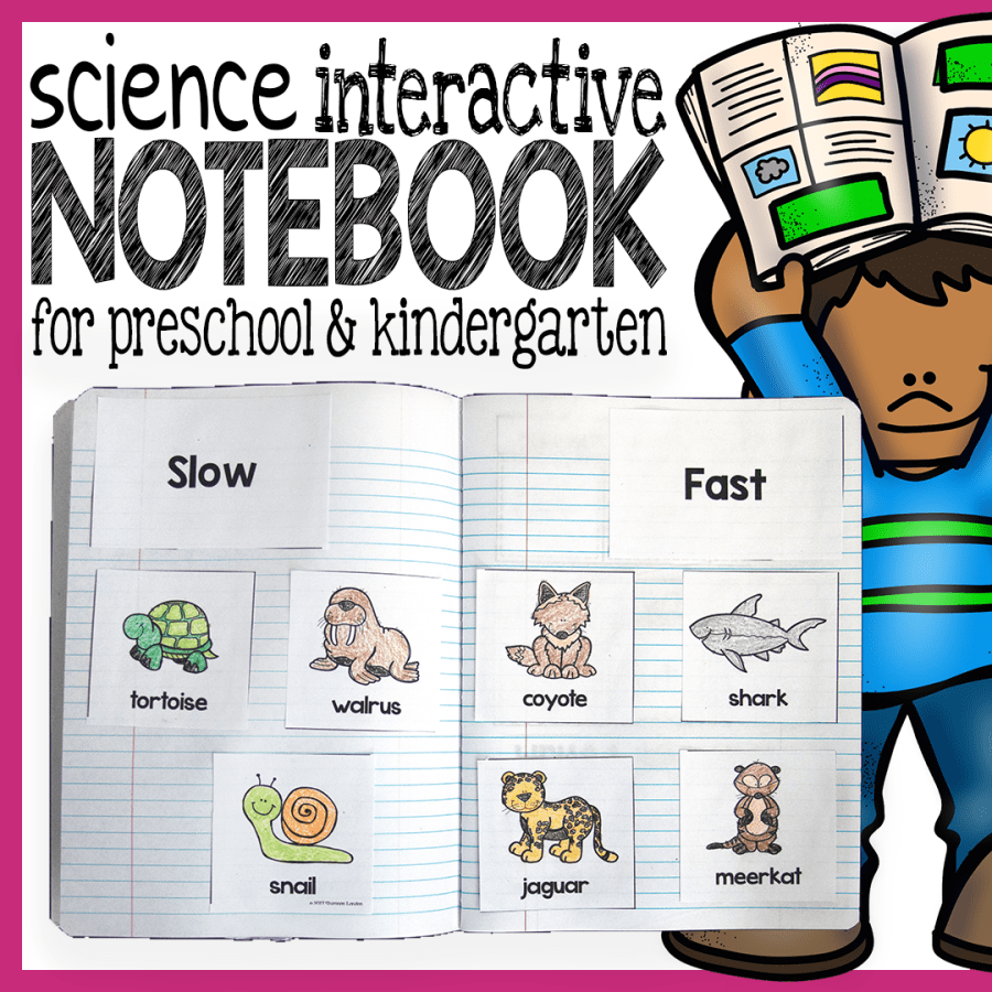 preschool science interactive notebook
