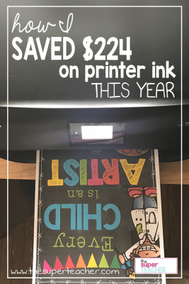How I Saved $224 On Printer Ink This Year
