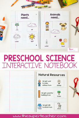 Preschool Science Activities – A Year's Worth of Lessons in One Download!