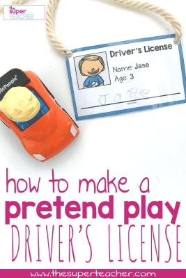 How to Make a Pretend Driver's License