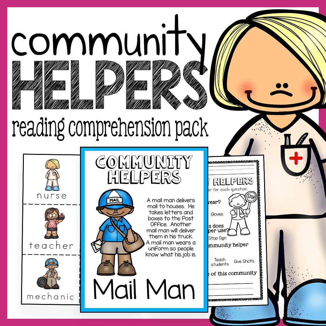Community Helpers Unit For Preschool And Kindergarten