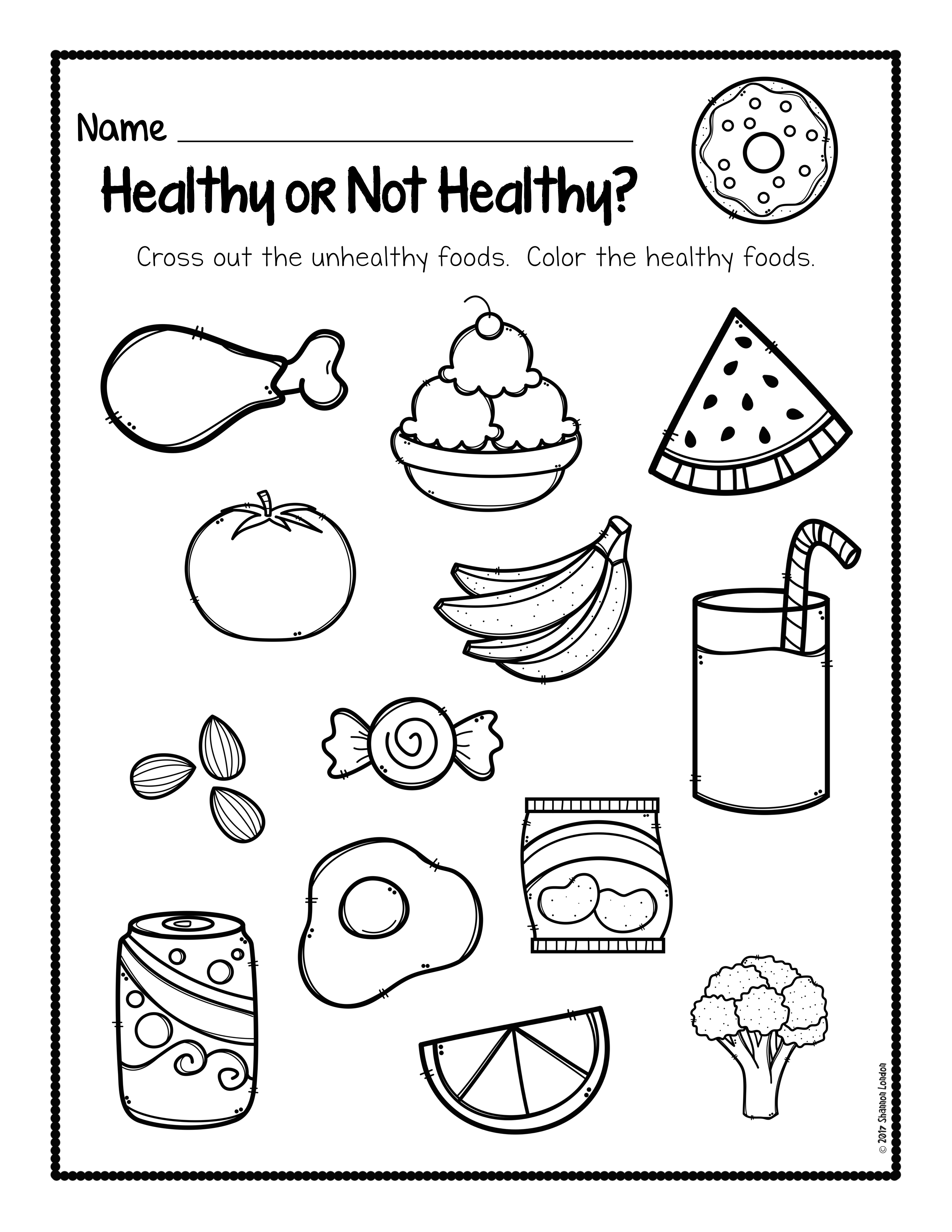 - Healthy Foods Posters, Worksheets, And Activities - The Super Teacher