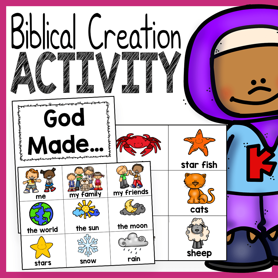 God Made Creation Activity
