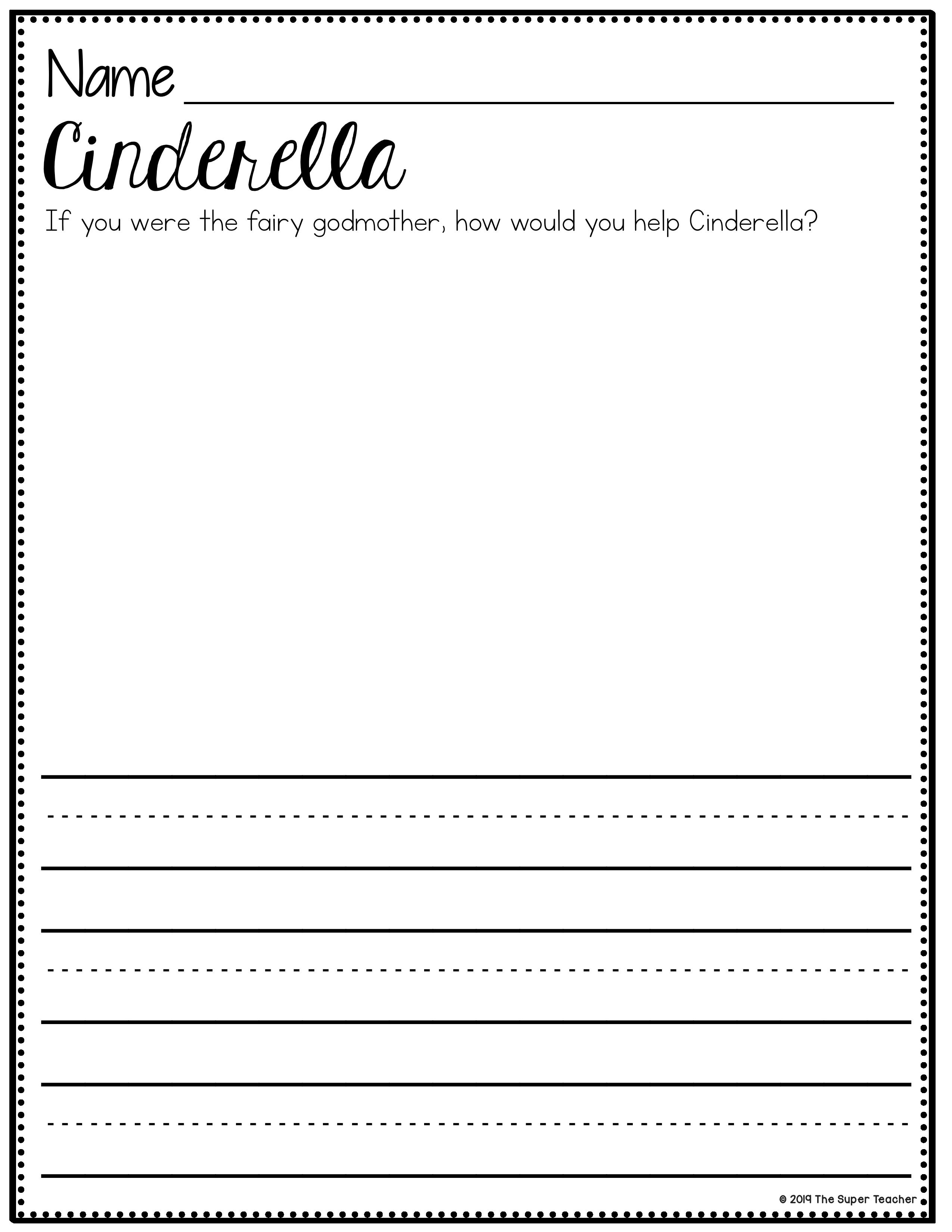 Cinderella writing paper creative writing ubc