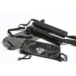 extra equipment that comes with the Burke 10 5 paddle-kayak package