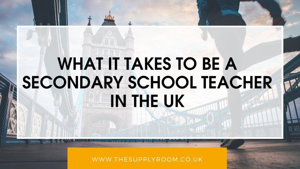 Secondary School Jobs London