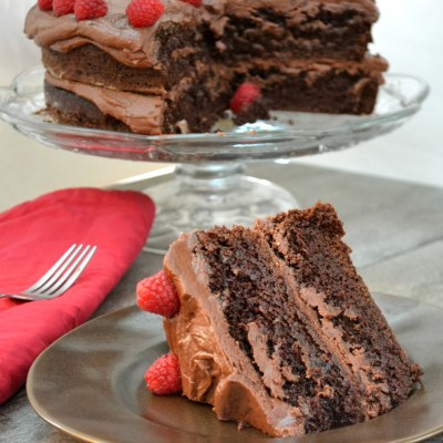 Grandpa's Perfect Chocolate Cake