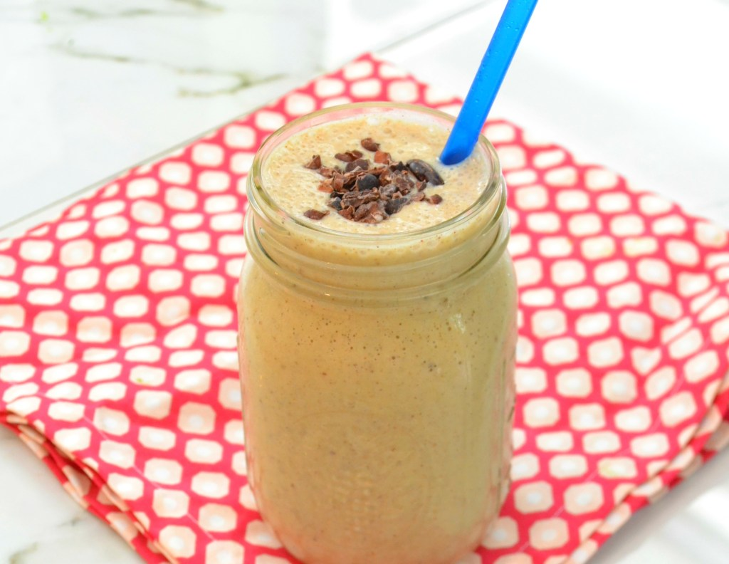 high protein high energy super smoothie