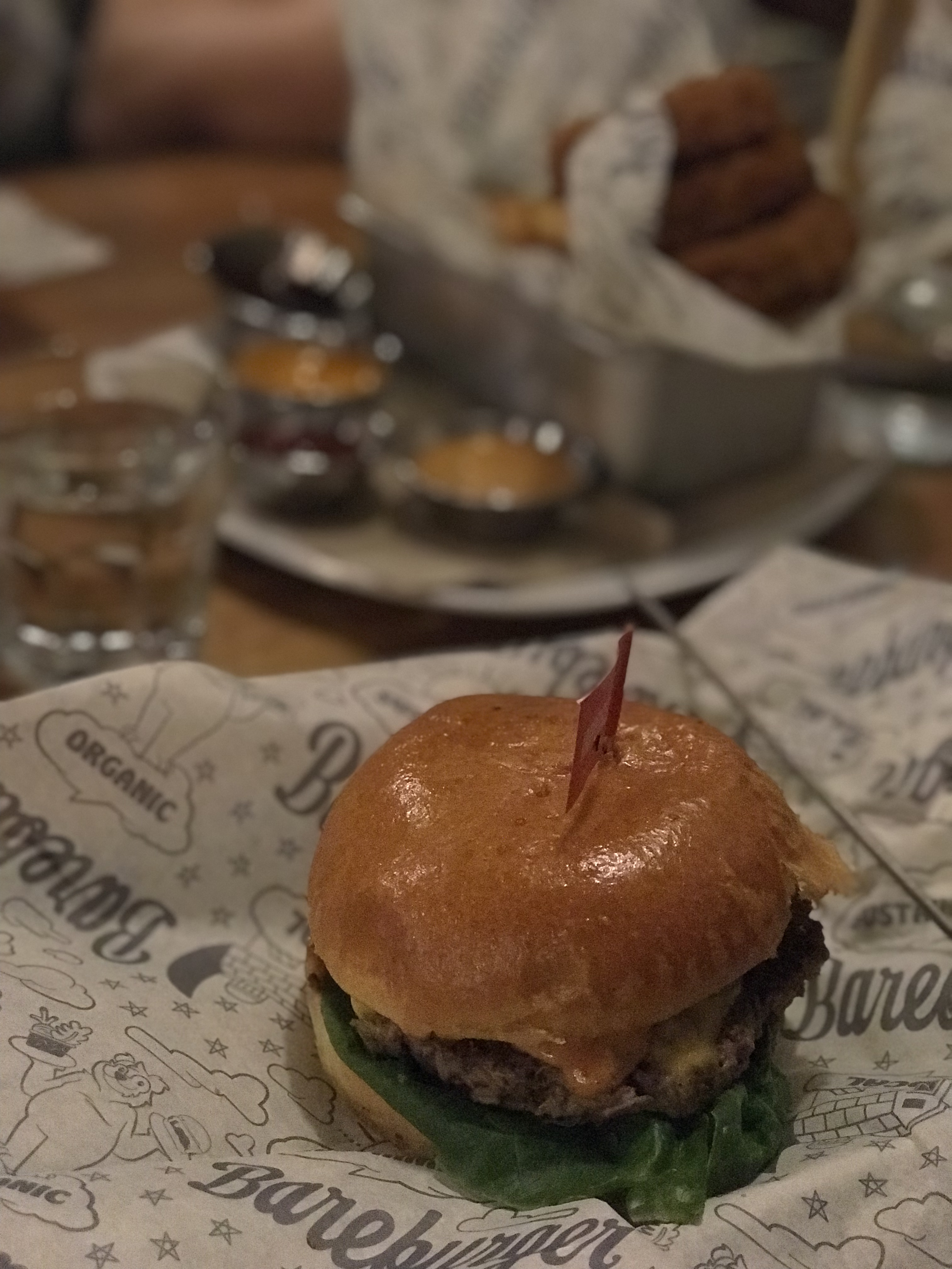 Impossible Burger from BareBurger in New York City