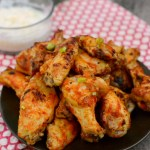 Baked Spicy Chicken Wings {Paleo and Whole 30 Adaptable}