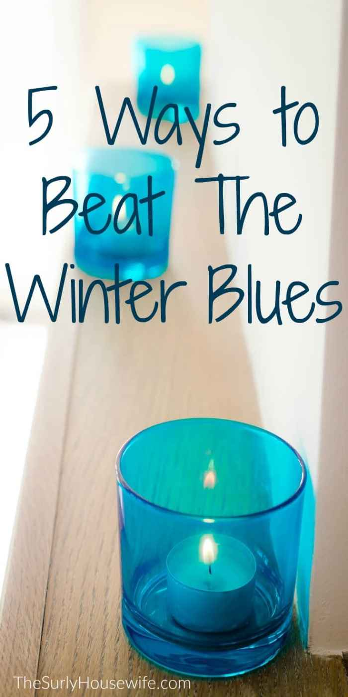 Keeping your home cozy is great tip to beat the winter blues. Check out this post for tips on how to keep your house cozy all winter long!